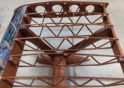 Stůl Boeing Stearman 200cm z mahagonu