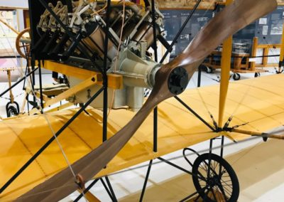 Curtiss Pusher s naší vrtulí, Pearson Air Museum, U.S.A.