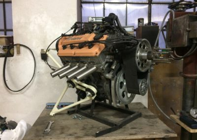 Suzuki G13B 85hp with a reduction drive