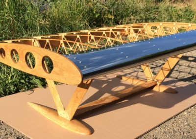 Stůl Boeing Stearman 110cm z dubu