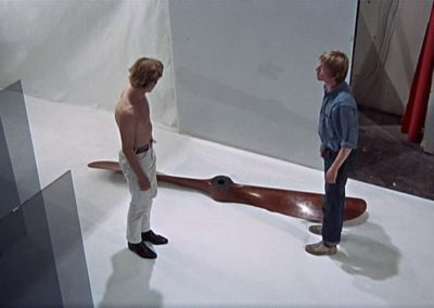 Chauviere propeller starring in the movie Blow-Up (1966)